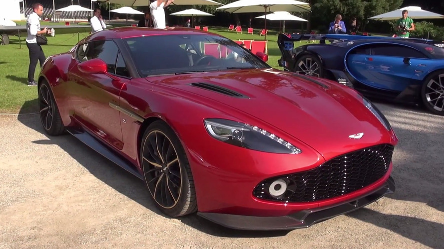 Aston Martin Vanquish Zagato looks even more stunning in reality