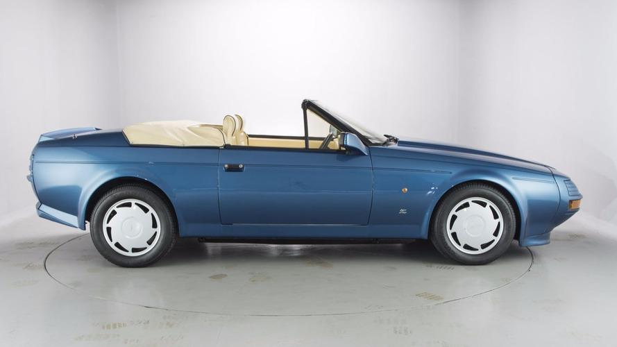 A vendre, une rare Aston Martin V8 Volante Zagato