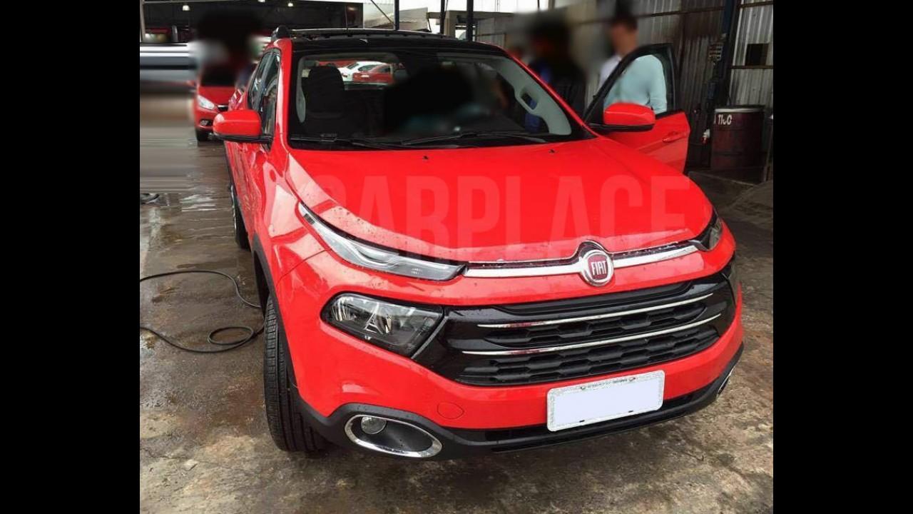 Fiat Toro é flagrada mais uma vez, agora na versão de entrada