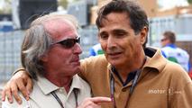 Jacques Laffite and Nelson Piquet