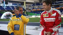 Juan Pablo Montoya, Sebastian Vettel