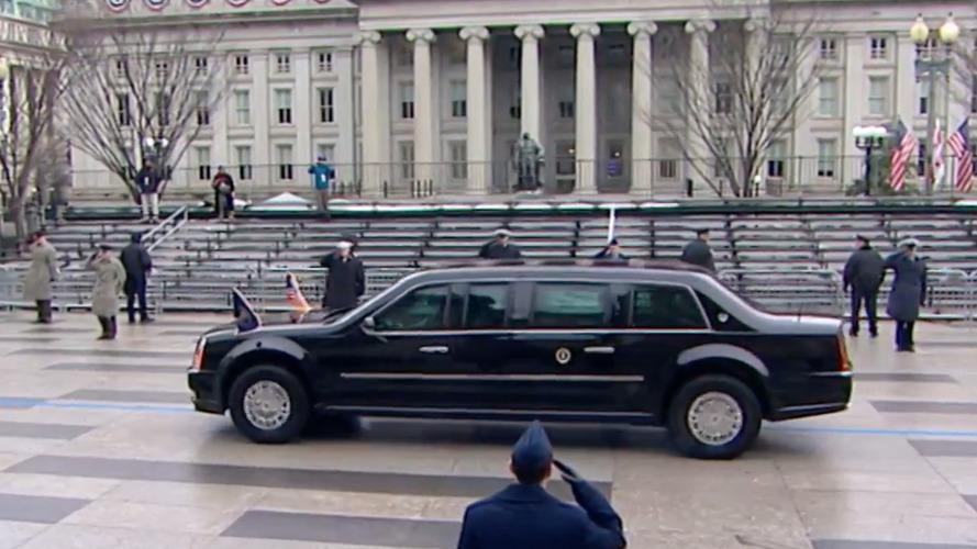 Başkan Trump, birkaç ay boyunca Obama'nın eski limuzinini kullanacak