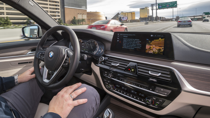 BMW's Five Levels Of Autonomy - They'll Reach Level 5 in 2021