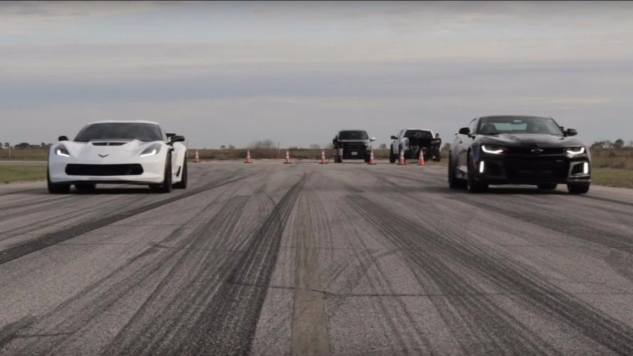 Hangisi daha hızlı: 2017 Camaro ZL1 mi yoksa Corvette Z06 mı?