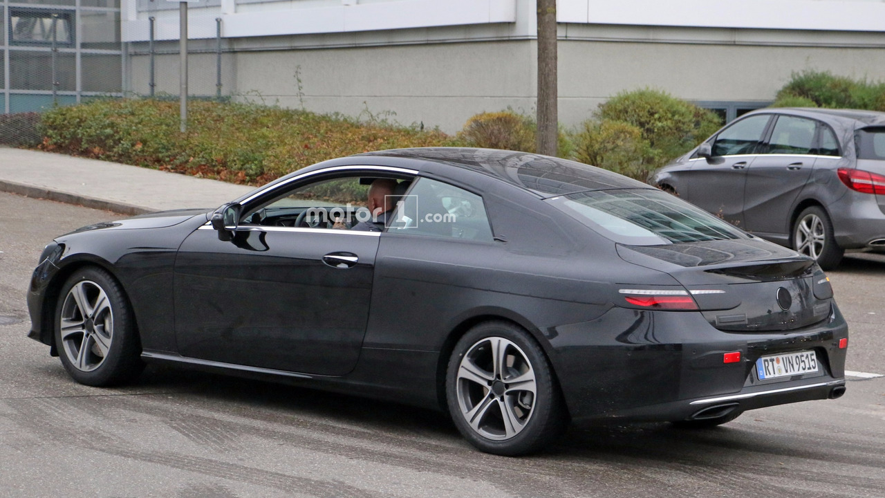 2018 mercedes e class coupe caught performing final testing for Mercedes benz residual value