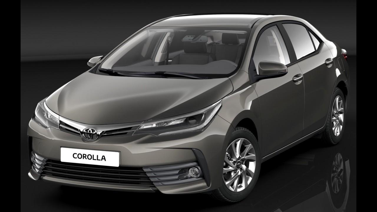 Flagra: Toyota Corolla 2017 reestilizado é pego na rua pela primeira vez
