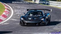 McLaren P1 LM Nürburgring'de