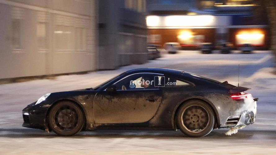 Photos espion - La future Porsche 911 une nouvelle fois débusquée