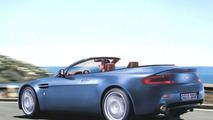 Aston Martin V8 Vantage Cabrio - computer image