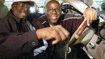 Earvin Magic Johnson Hands Over Keys