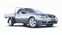 Four Ford Falcon Utes Special Editions (AU)