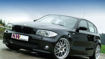 BMW 1 series with KW suspension