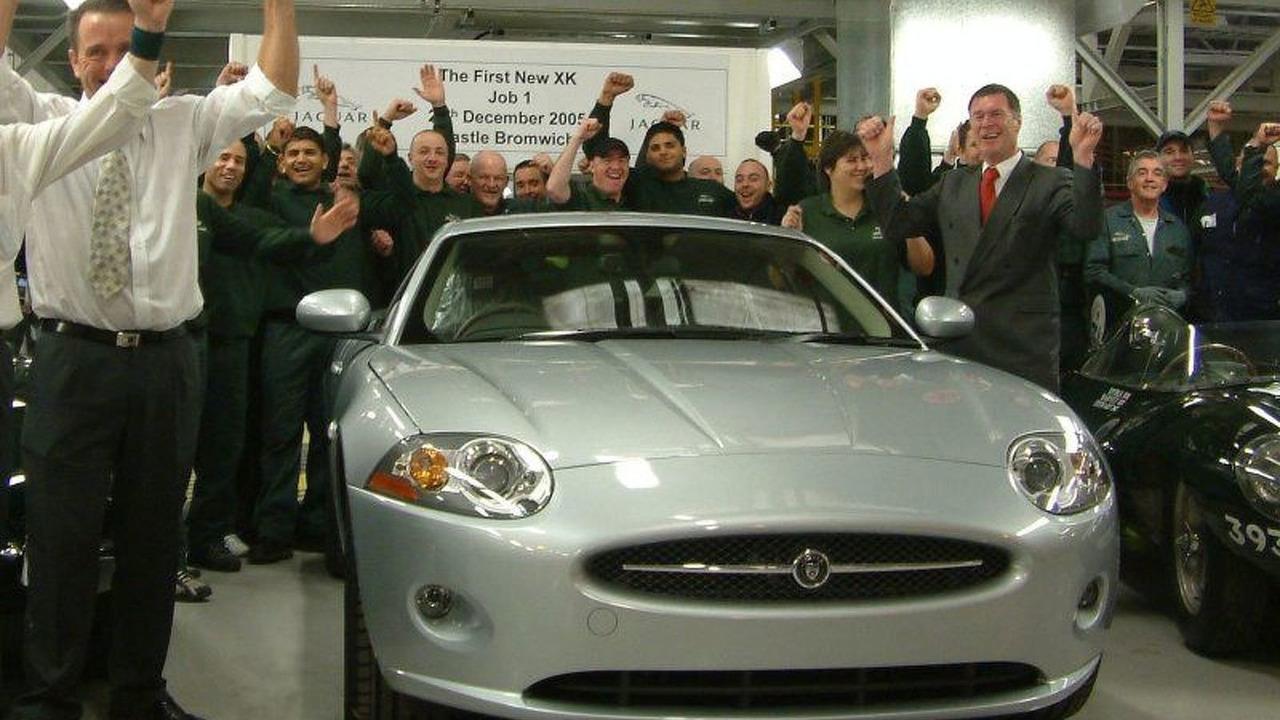 First Production Jaguar XK