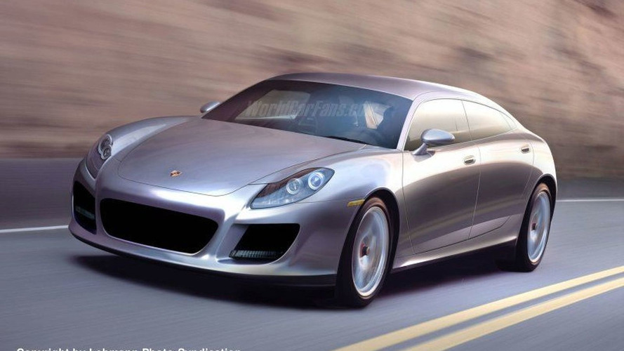 SPY PHOTOS: Porsche Panamera and GT Coupe