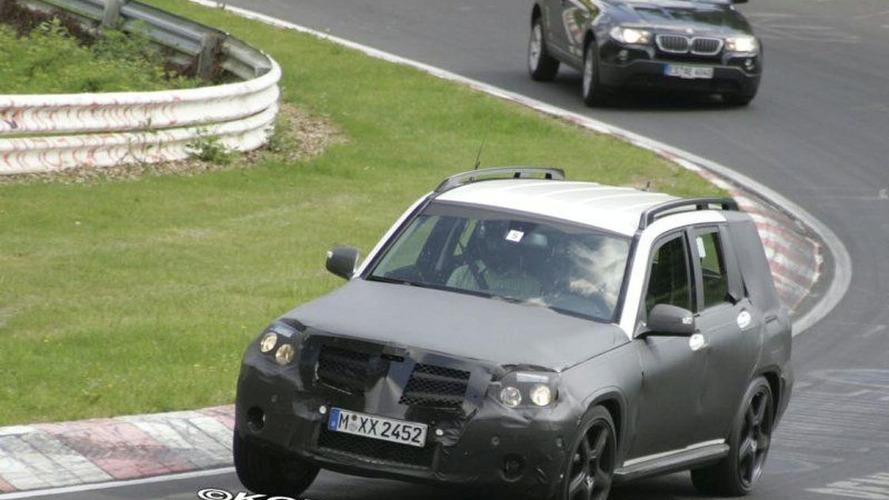SPY PHOTOS: Mercedes GLK Hits the Track