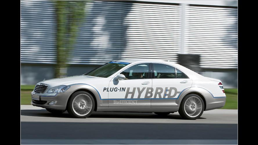 Mercedes Vision S 500 Plug-in Hybrid: Die Dreiliter-S-Klasse