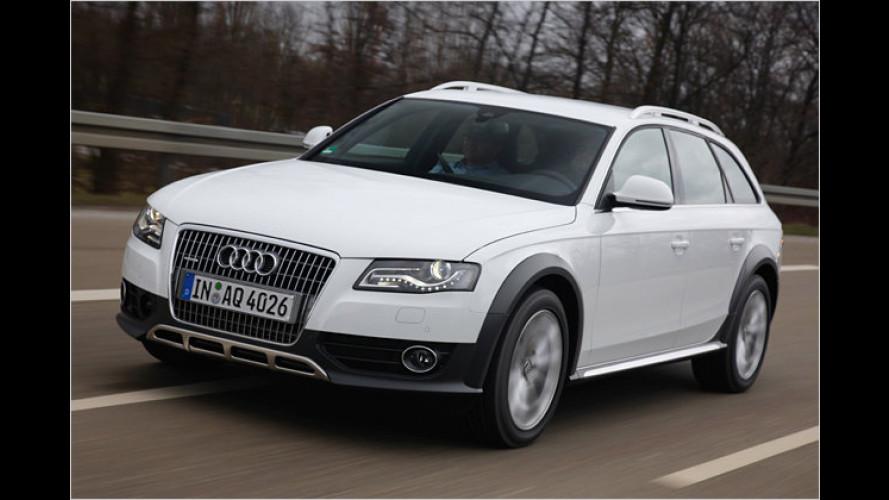 Audi A4 allroad quattro: Gut gerüstet für schlechte Wege?