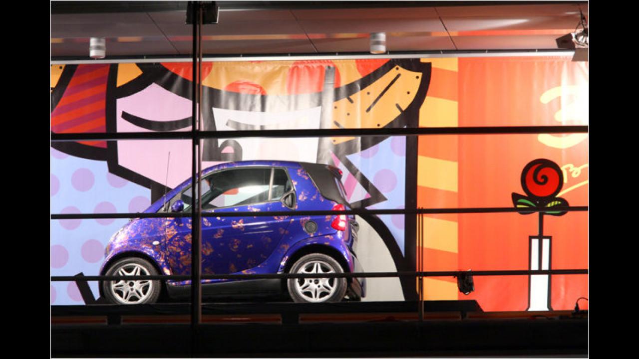 3. Dezember: Smart City Cabriolet, Baujahr 2001, mit Romero Brittos ,For your love