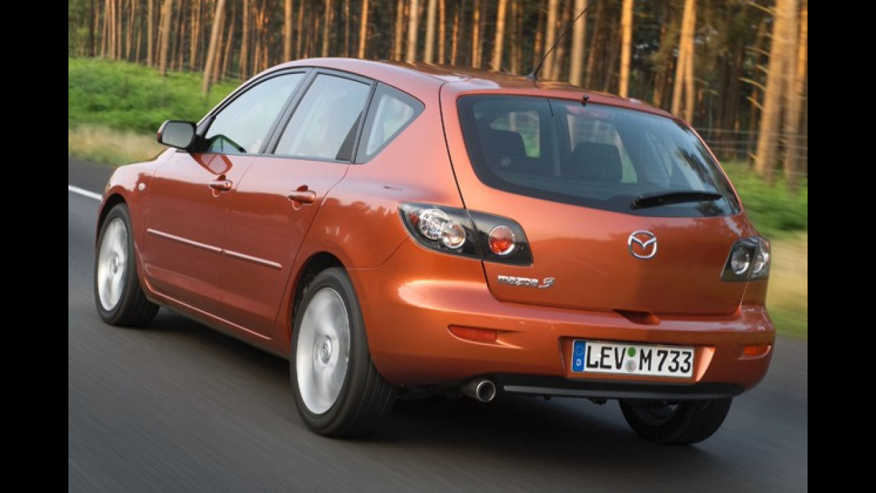 6. Platz: Mazda 3 1.6 Sport Comfort