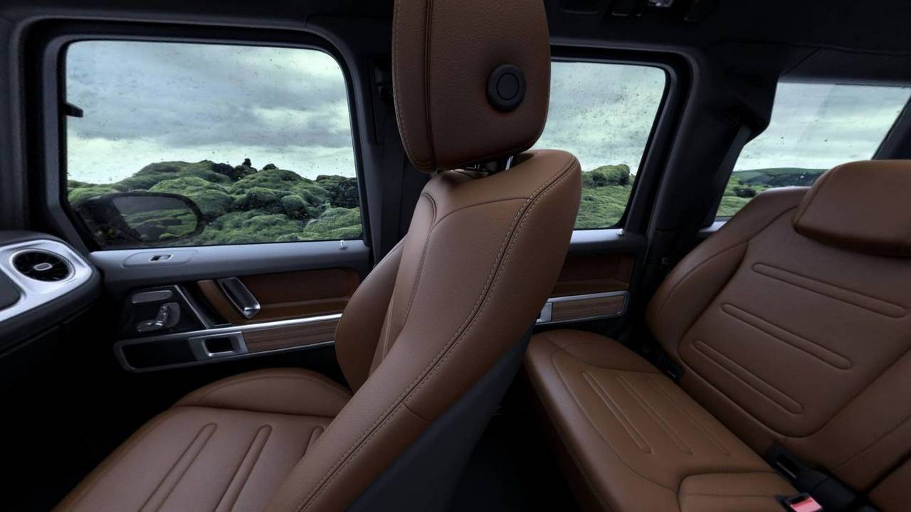 2019 Mercedes Benz G Class Interior Photo