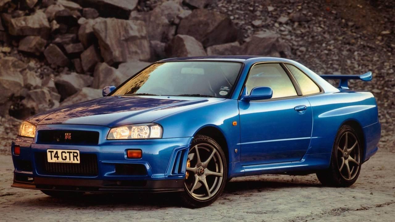 Nissan Skyline R34, A todo gas