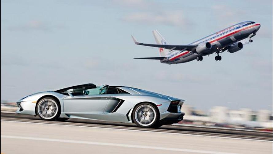 Lamborghini Aventador Roadster: astenersi cardiopatici