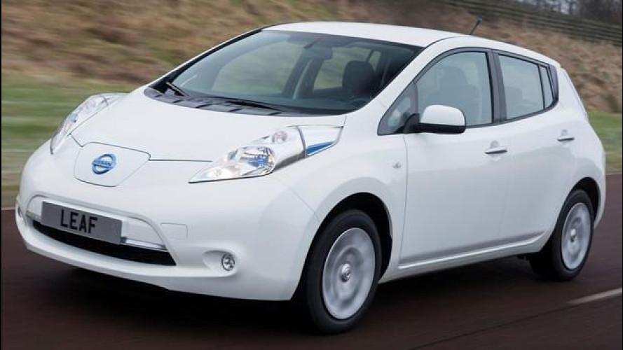 Strabiliante Nissan Leaf, macina più km delle benzina o diesel