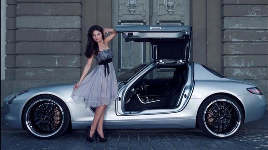 Mercedes SLS AMG by Inden Design
