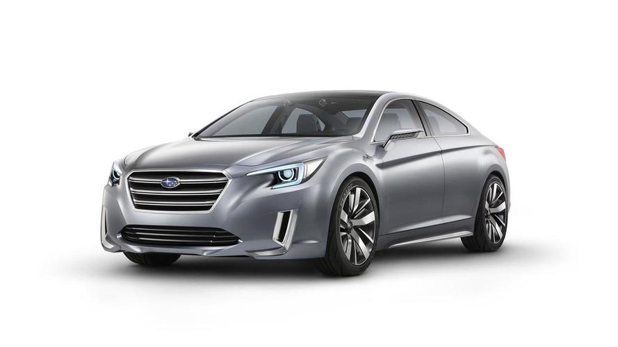 Subaru Legacy Concept revealed prior to Los Angeles Auto Show debut
