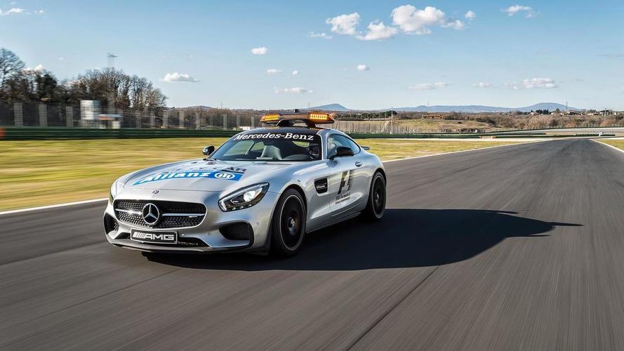 Mercedes-AMG GT S F1 Safety Car and C63 Estate F1 Medical Car revealed