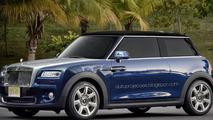 Rolls-Royce Spook rendering / AutoProjecoes