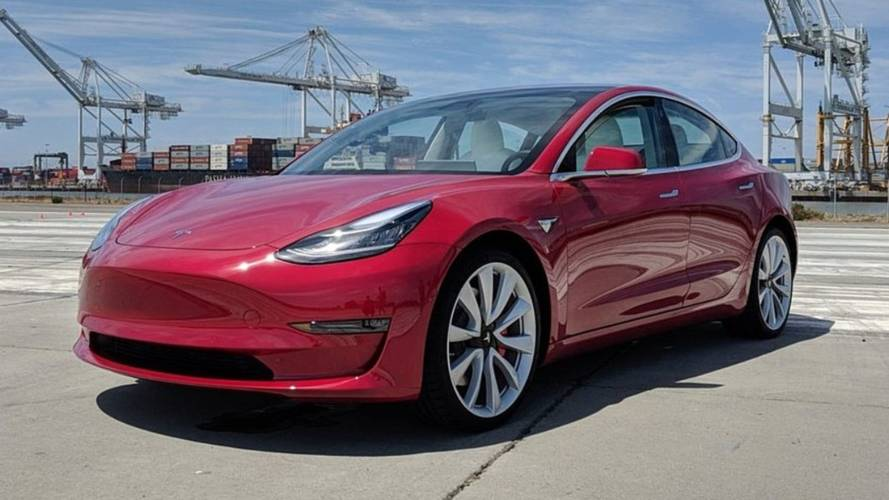 Watch Tesla Model 3 Performance Launch, Drift, Drive