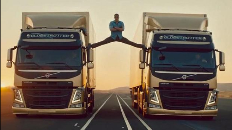 Per Volvo è record sul web grazie alla spaccata di Van Damme [VIDEO]