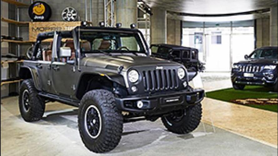 Jeep, ad Expo 2015 è temporary store