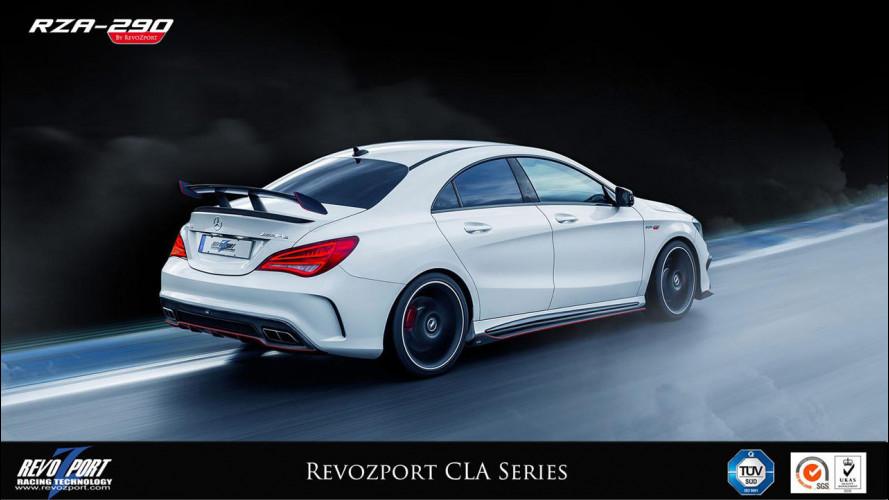 Mercedes CLA, arriva la RZA-290