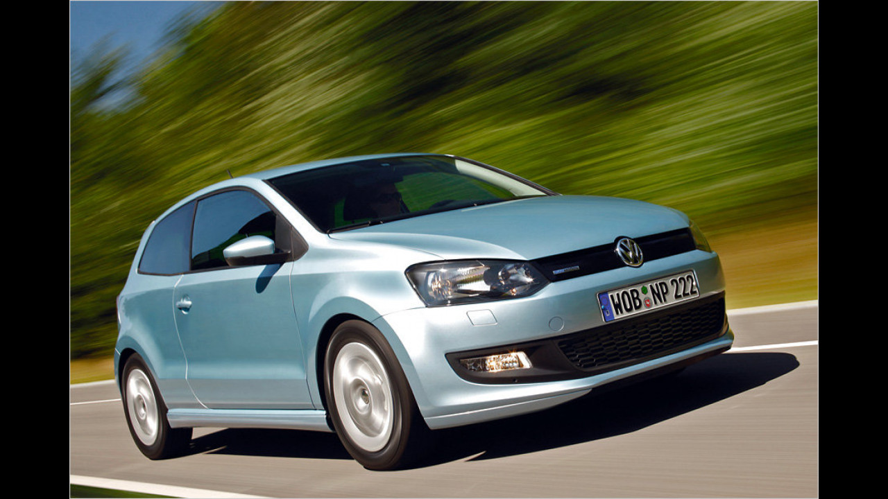 VW Polo 1.2 TDI BlueMotion 87g