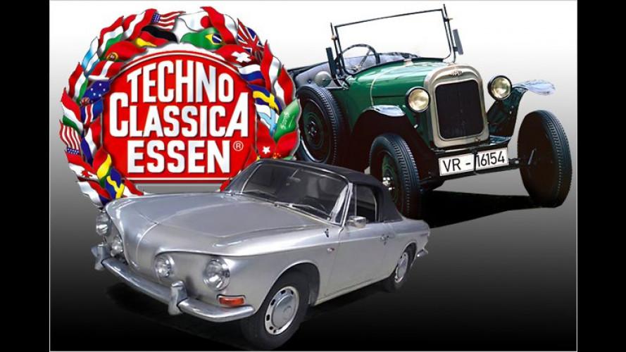 Techno-Classica 2011: Große Oldtimer-Schau in Essen