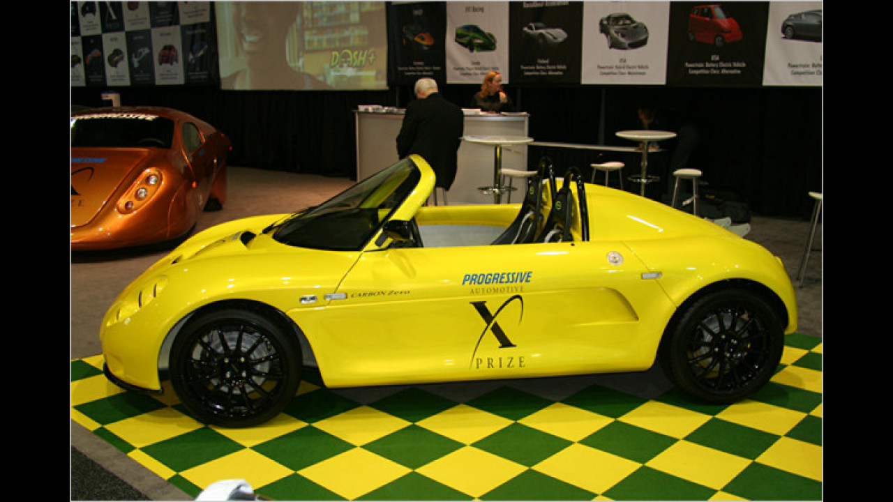 Saba Motors Carbon Zero Roadster