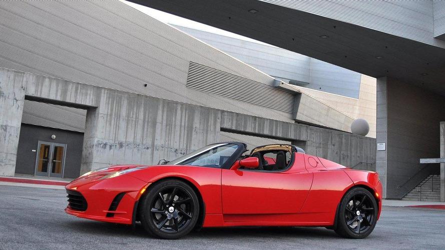 Tesla Roadster 2.5 revealed - public debut at Goodwood FOS 2010
