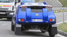 Volkswagen Race Touareg prototype spy photo in the Alps 15.60.2010