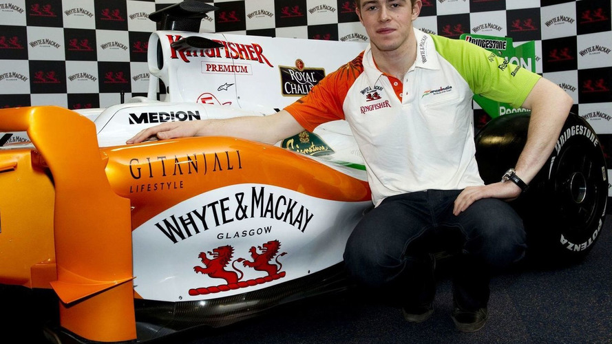 Di Resta takes step away from Force India debut