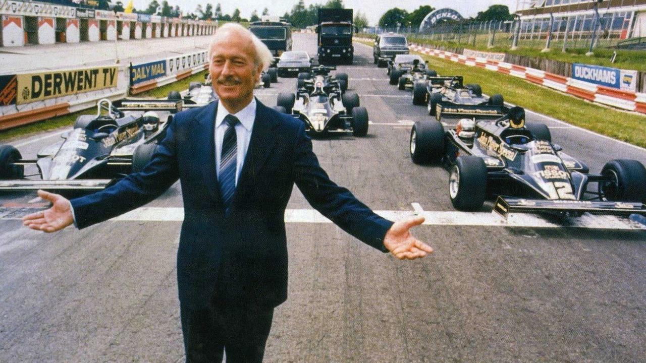 Colin Chapman, founder, Lotus Engineering, classic