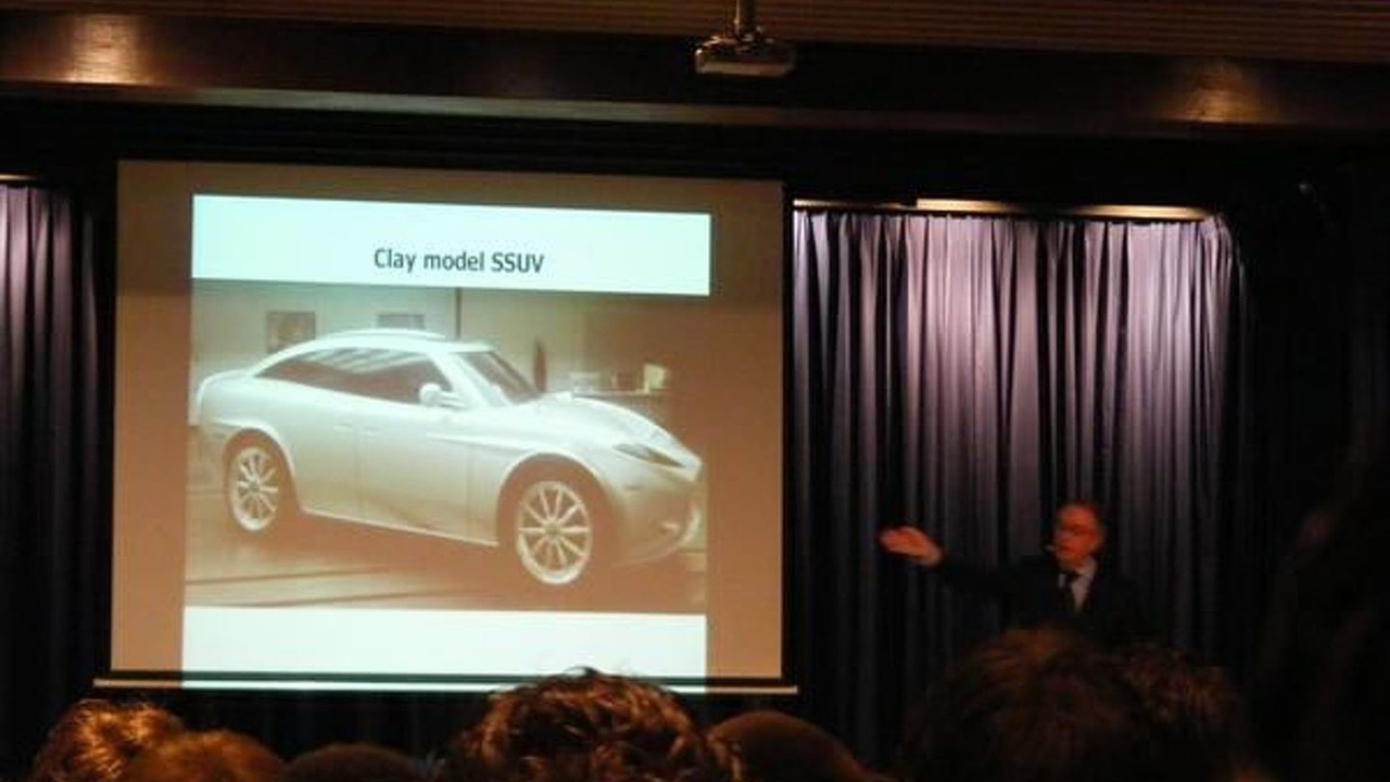 Spyker Peking-to-Paris SUV design clay model spied during presentation - 600 - 09.04.2010
