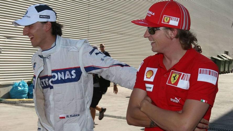 Toyota covets signing Kubica, Raikkonen