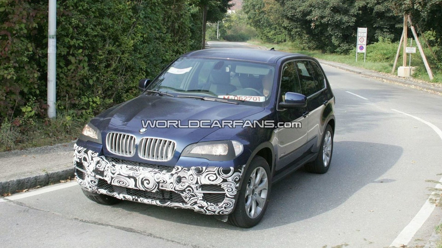 BMW X5 Facelift Latest Spy Shots