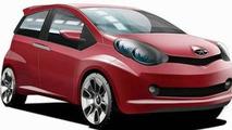 JAC Mini Car Sketch