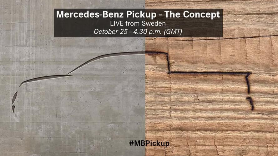 Mercedes-Benz Pickup Concept Teaser