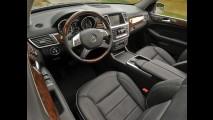 Mercedes Classe M ganha cinco estrelas em três testes de colisão
