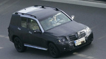 Mercedes GLK Spy Photo