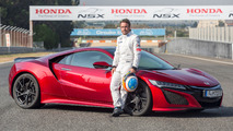 2017 Acura NSX with Fernando Alonso